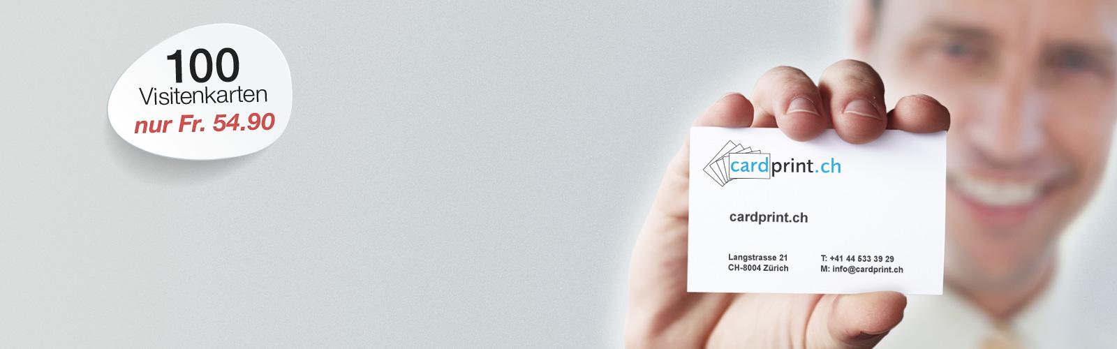 Cardprint Ch Wir Drucken Ihre Visitenkarten Innerhalb Von 24 H