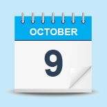 9 October
