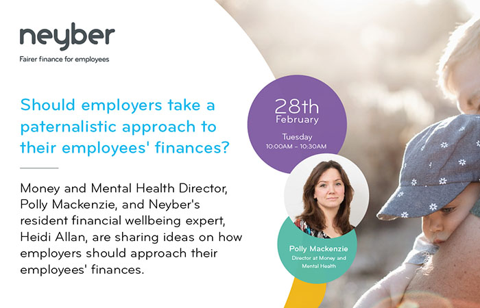 Should employers take a paternalistic approach to their employees' finances