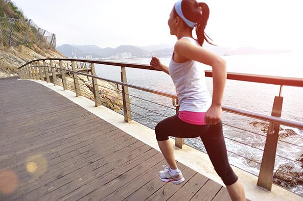 running-lady