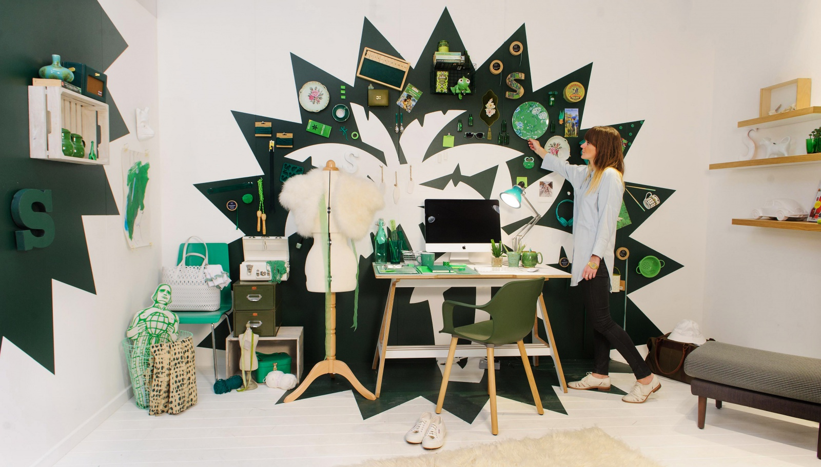 John lewis launches interactive installation in home for Home design john lewis