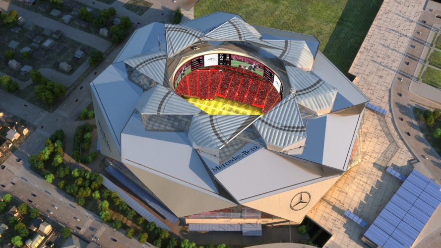 Smart arena - Atlanta Falcons