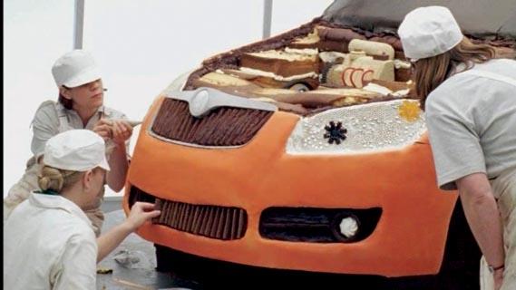 The Skoda Cake-Car