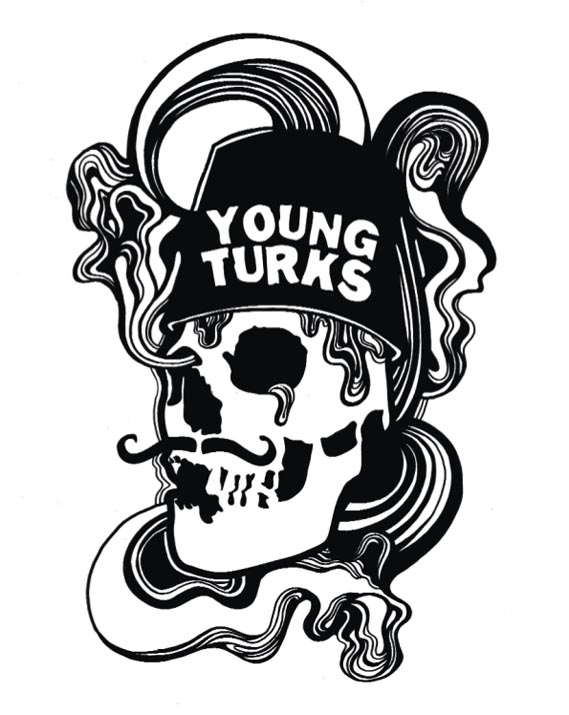 Logo - Logo for Moross' oldest client, record label Young Turks, 2005.