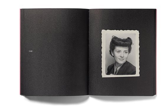 In Almost Every Picture #6 - The latest in Erik Kessels' books of found imagery, In Almost Every Picture #6, features 75 passport photos of the same woman, from 1926 to 1978.