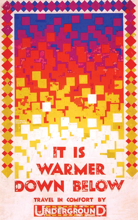 Artwork - It Is Warmer Down Below artwork by Austin Cooper, 1924