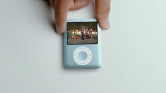 iPod Nano ad using song 1234 by Feist