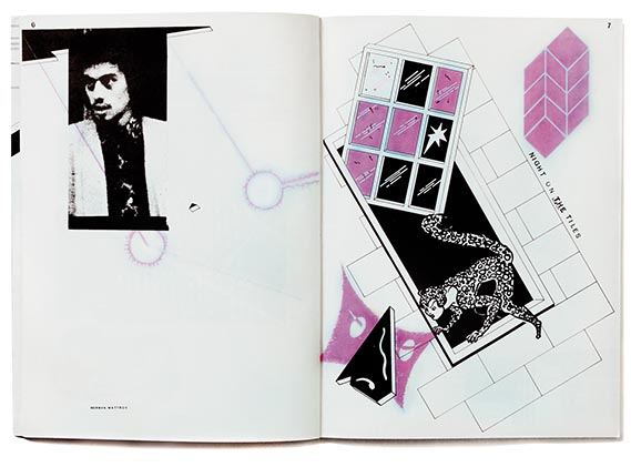 Spread from The Ian Dury Songbook - (Wise Publications, 1979);