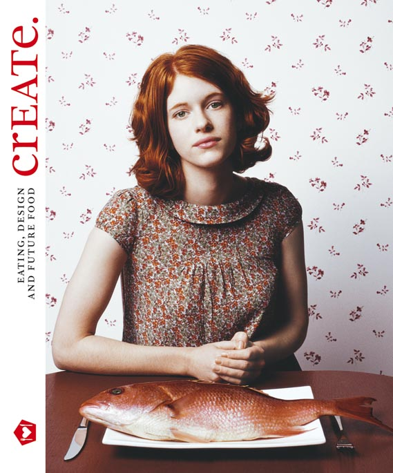 Cover of crEATe. - The new book from The Future Laboratory which looks at trends and visual developments in and around food.