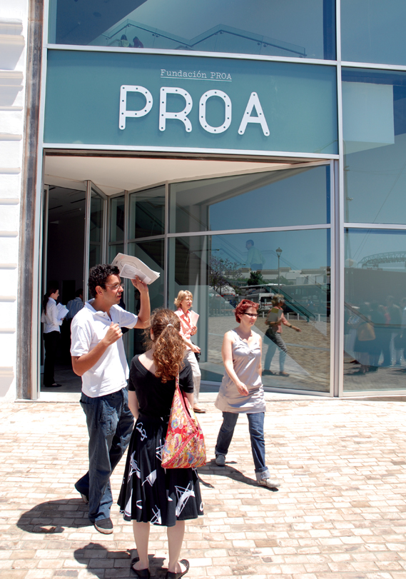 PROA - Exterior signage