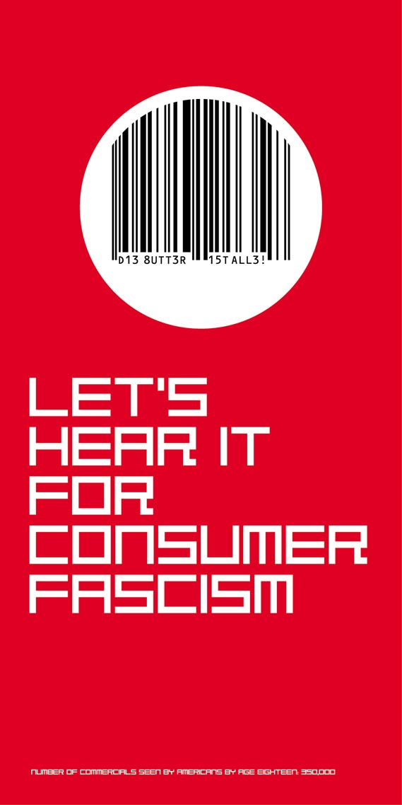 DR M-Art™/ Consumer Fascism™ - DR M-Art™/ Consumer Fascism™ (after Heartfield), SoYo™ North of Nowhere™ (1997)