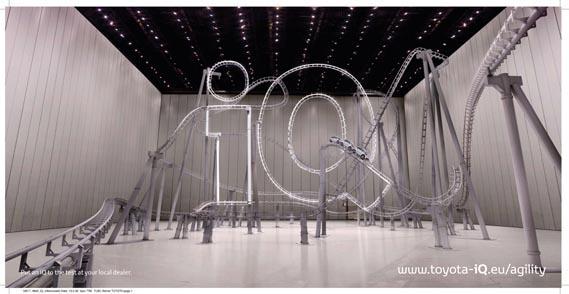 Toyota iQ print campaign