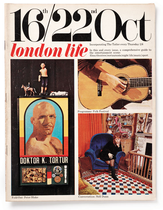 Cover, 1965 - London Life incorporated The Tatler, a magazine that was already owned by its publishers, Thomson.