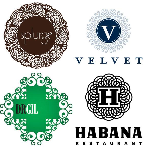 Doily - (Clockwise from top left): Iperdesign, Inc. for Splurge  dessert; R&R Partners for Harrah's; Diagram for Eligiuz; Gesture Studio for Isaias Gil.