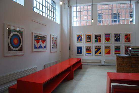peterblake3_0.jpg - Mother launches art space with Peter Blake show - 1277