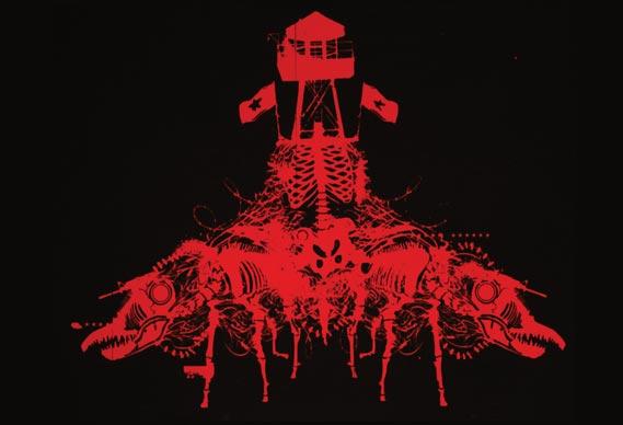 Guantanamo Bay print - by 2cent (Chora Prints). See chora.info.