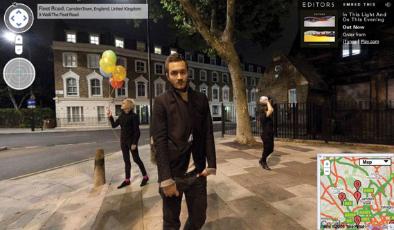 Editors Hack Google Street View - Sony Music Creative - 6 ...