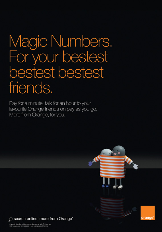 Orange Choose by Chrissie MacDonald (2 of 4) - For your bestest bestest friends