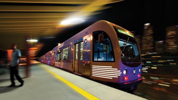 New LA train