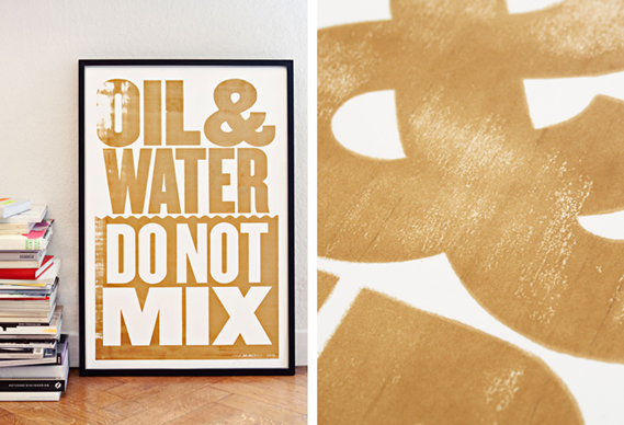 569_0.png - New Anthony Burrill print: Oil & Water Don't Mix - 2821