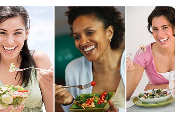 womenalonewithsalad388_0.jpg - Women + Laughing + Alone + With Salad - 2987
