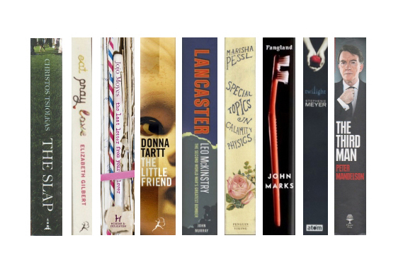 Creative Book Spine Design : Look after your spines book designers creative review