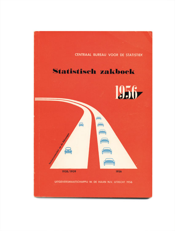 Statistical Pocketbooks (1 of 3) - Covers for a series of Statistical Pocketbooks published by the Dutch Central Bureau for Statistics