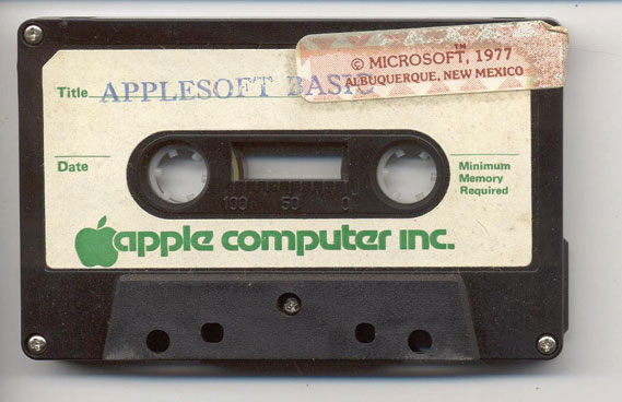 1977 software cassette (pic: Ethan Hein)