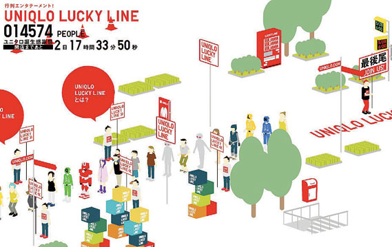 Uniqlo Lucky Line project (1 of 2)