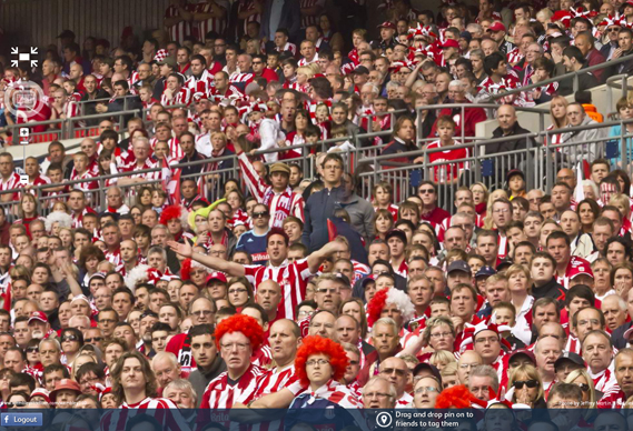 569wembley_0.jpg - Spot the cup final fan with Dare - 3328