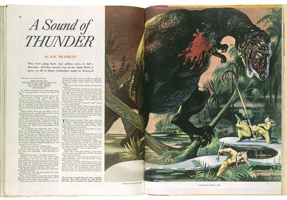"essay on a sound of thunder Ray bradbury's ""the sound of thunder"" and gloria skurzynski's we will write a custom essay sample on ""the sound of thunder 2018 klon org all."