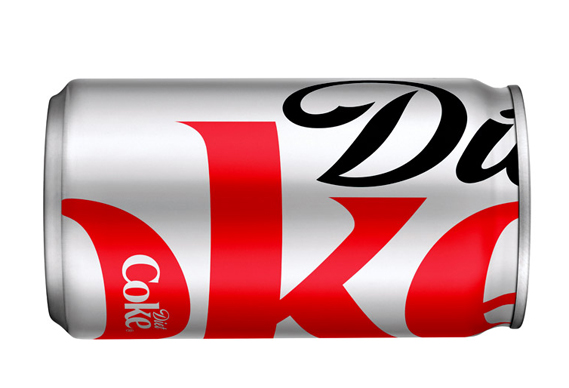 569coke1_0.jpg - Turner Duckworth gives Diet Coke new look - 3637