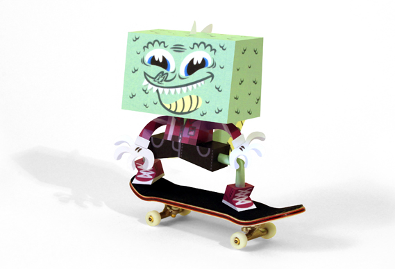 croco_0.jpg - Paper Toys: Tougui - 3845