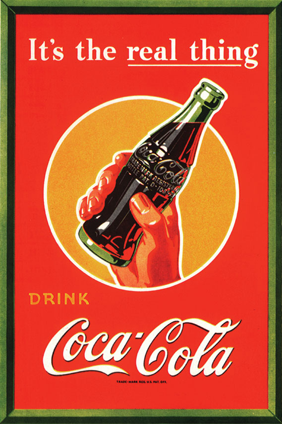 The history of Coca-Cola's It's the Real Thing slogan