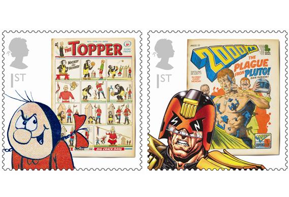 comic_569_0.jpg - New stamps honour comic icons - 4182