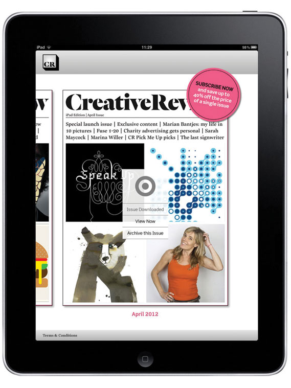 CR app - The CR ipad app costs £3.99 for a single issue on a rolling monthly subscription, £4.99 for a one-off, or £39.99 for a 12-month subscription