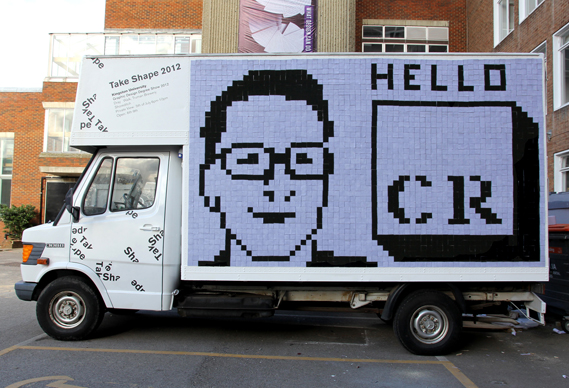 patrick_0.jpg - Kingston's mobile degree show in a van - 4488