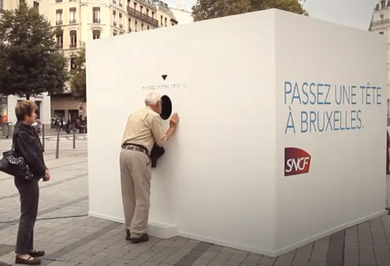 sncf_welcome_to_brussels2_0.jpg - SNCF campaign creates virtual inter-cities portal - 4776