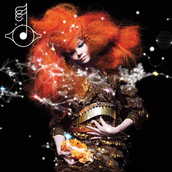 Björk Biophilia album sleeve, 2011 - Photography by Inez van Lamsweerde and Vinoodh Matadin. 3D drawing by M/M (Paris)