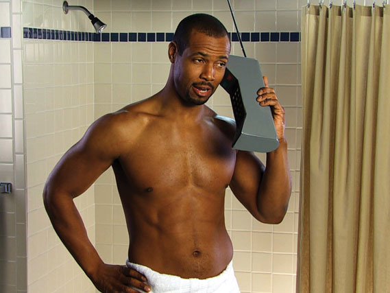 Image from the Old Spice Responses Campaign from W+K Portland in 2010 - The Old Spice Guy from the hugely popular TV ads recorded a series of filmed messages in response to comments received from fans on Twitter