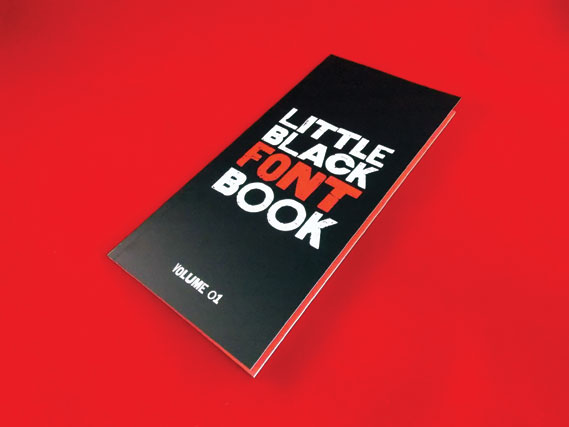 HypeForType's Little Black Font Book