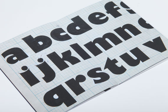 Spread from Monotype's Collection series of publications