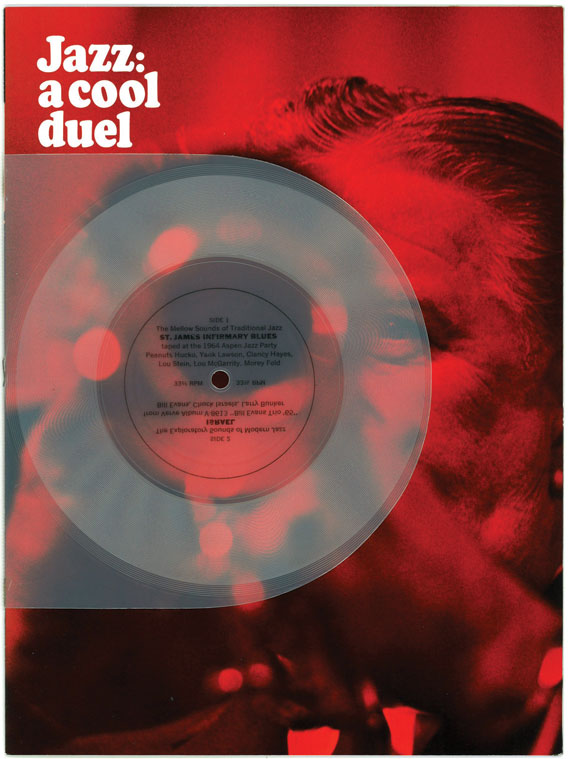 Jazz: A cool duel (printed matter/flexi-disc) as featured in issue one