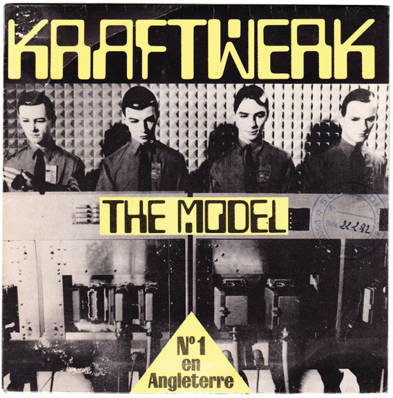 The Model - The Vinyl Factory, in conjunction with The Mott Collection, has recently published Kraftwerk 45RPM, a collection of 45 Kraftwerk singles covers from around Europe