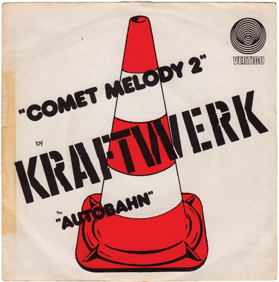 Comet Melody 2 - The Vinyl Factory, in conjunction with The Mott Collection, has recently published Kraftwerk 45RPM, a collection of 45 Kraftwerk singles covers from around Europe