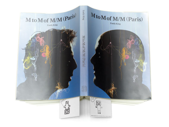 Cover of M to M of M/M (Paris) by Emily King - Designed by Graphic Thought Facility. Published by Thames & Hudson; £42. See thamesandhudson.com