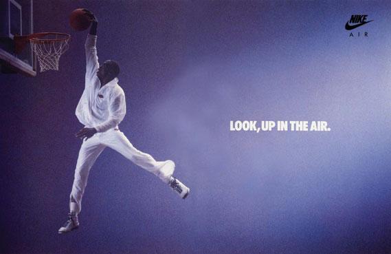 Michael Jordan poster from 1986
