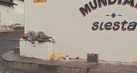 Still from 2012 Comedy Central campaign from W+K São Paulo, which tells the story of the fictional Siesta World Cup