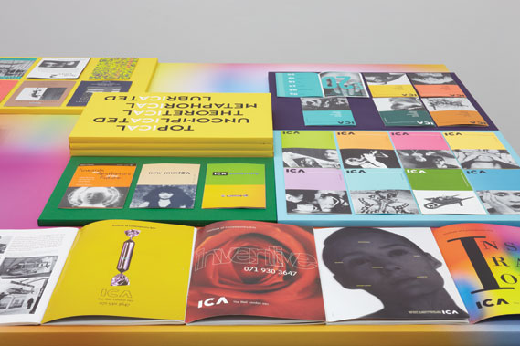 Selected work for the ICA in London, (1991–92)