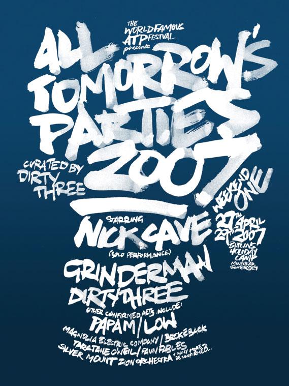 ATP UK 2007 poster by Ben Drury